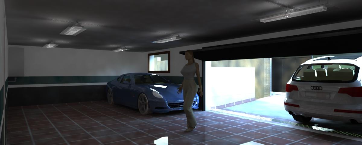Promotora constructora busco casa for Foto staccate del garage
